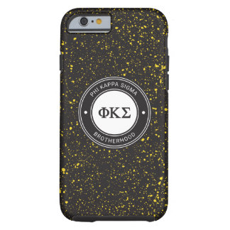 Capa Tough Para iPhone 6 Crachá do Sigma | do Kappa da phi