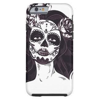 Capa Tough Para iPhone 6 Crânio gótico
