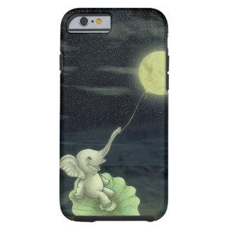 Capa Tough Para iPhone 6 Dê-me uma corda, mim voará à lua! iPhone 6