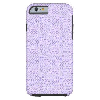 Capa Tough Para iPhone 6 Design roxo Pastel Funky de Memphis