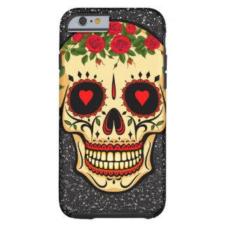 Capa Tough Para iPhone 6 Dia dos corações e das flores inoperantes do
