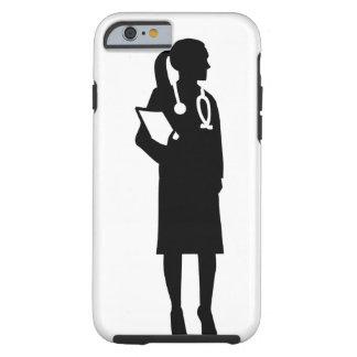 Capa Tough Para iPhone 6 Doutor fêmea