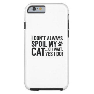 Capa Tough Para iPhone 6 Estrague meu gato