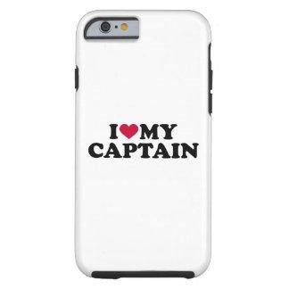 Capa Tough Para iPhone 6 Eu amo meu capitão