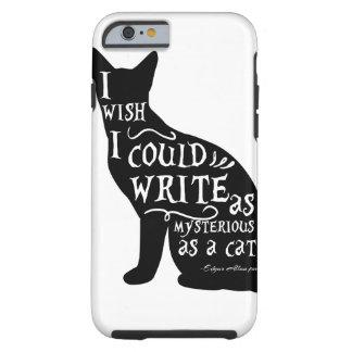 Capa Tough Para iPhone 6 Eu desejo que eu poderia escrever tão misterioso