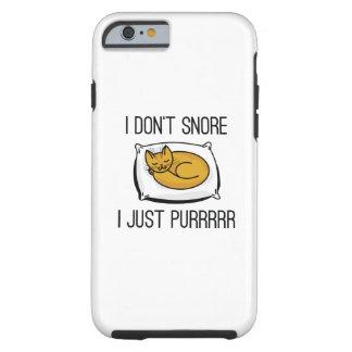 Capa Tough Para iPhone 6 Eu não ressono