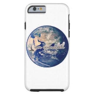 Capa Tough Para iPhone 6 Eu sou cobrir conectado do telefone da terra