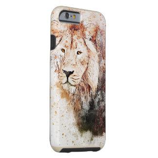 Capa Tough Para iPhone 6 Exemplo do leão