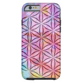 Capa Tough Para iPhone 6 Flor do caso de IPhone 6 da vida
