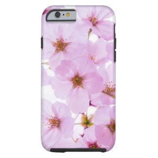 Capa Tough Para iPhone 6 Flores da flor de cerejeira em Tokyo Japão