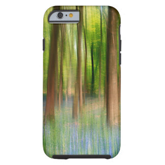 Capa Tough Para iPhone 6 Floresta BRITÂNICA do carvalho do Bluebell de
