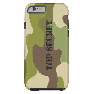 Capa Tough Para iPhone 6 forças armadas extremamente secretos da camuflagem