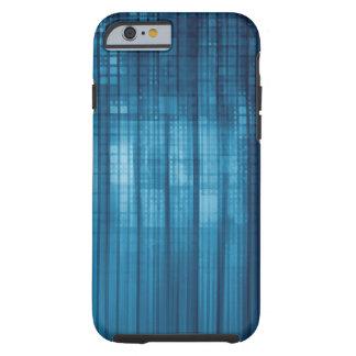 Capa Tough Para iPhone 6 Fundo do mosaico da tecnologia como uma arte do