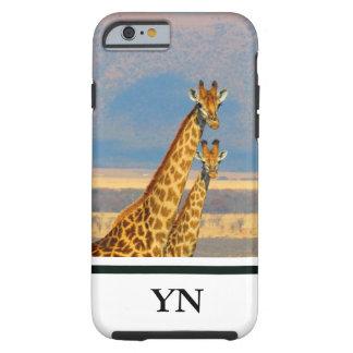 Capa Tough Para iPhone 6 Girafas