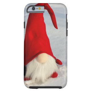 Capa Tough Para iPhone 6 Gnomo escandinavo do Natal