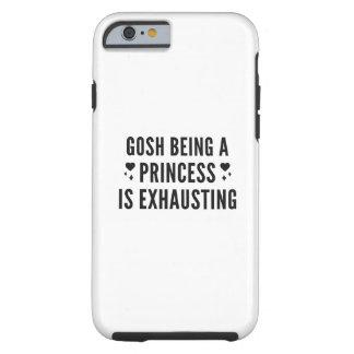 Capa Tough Para iPhone 6 Gosh princesa