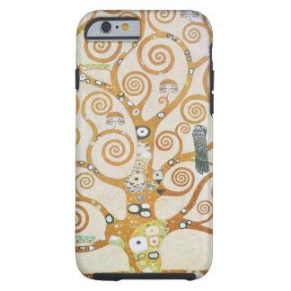 Capa Tough Para iPhone 6 Gustavo Klimt a árvore da arte Nouveau da vida