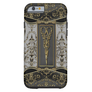 Capa Tough Para iPhone 6 Hazelhurst completo Scissor VI