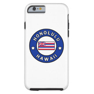 Capa Tough Para iPhone 6 Honolulu Havaí