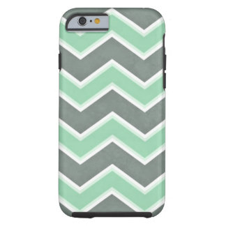 Capa Tough Para iPhone 6 Hortelã Chevron