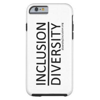 Capa Tough Para iPhone 6 Inclusão sobre o caso do iPhone 6 da diversidade