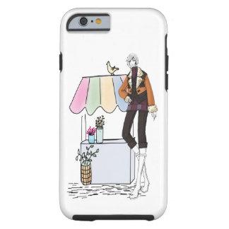 Capa Tough Para iPhone 6 iPHONE 3 6 LANKY das FLORES MAL LÁ
