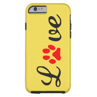 Capa Tough Para iPhone 6 iPhone 6/6s, animais de estimação resistentes do