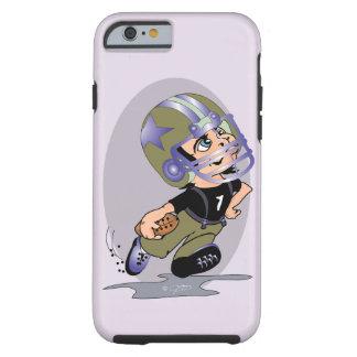 Capa Tough Para iPhone 6 iPhone 6/6s T dos DESENHOS ANIMADOS do FUTEBOL de