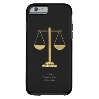 Capa Tough Para iPhone 6 iPHONE 6 do LIBRA STARSIGN MAL LÁ