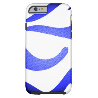Capa Tough Para iPhone 6 iPhone azul 6/6s/Extr resistente/resistente de