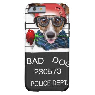 Capa Tough Para iPhone 6 Jaque engraçado russell, cão do Mugshot