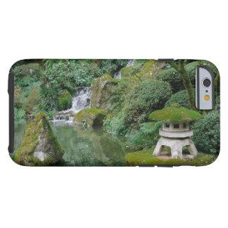 Capa Tough Para iPhone 6 Jardins japoneses calmos