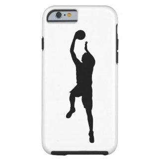 Capa Tough Para iPhone 6 Jogador de basquetebol