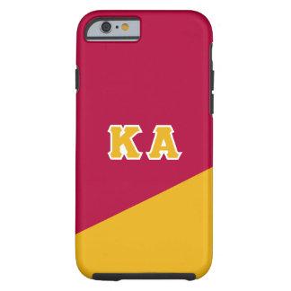 Capa Tough Para iPhone 6 Letras alfa do grego da ordem   do Kappa