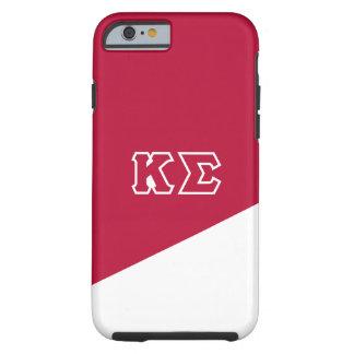 Capa Tough Para iPhone 6 Letras do grego do Sigma | do Kappa