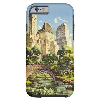 Capa Tough Para iPhone 6 Linhas de ar unidas reticulação de New York do