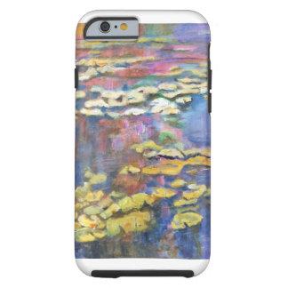 Capa Tough Para iPhone 6 Lírios em uma lagoa