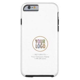 Capa Tough Para iPhone 6 Logotipo feito sob encomenda marcado