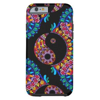 Capa Tough Para iPhone 6 Mandala de Yin Yang