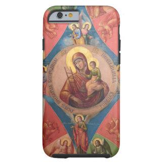 Capa Tough Para iPhone 6 Mary, Jesus, e anjos