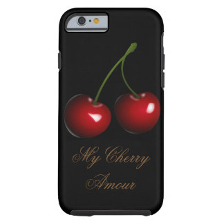Capa Tough Para iPhone 6 MEU iPHONE 6 do CASO AMOROSO da CEREJA MAL LÁ