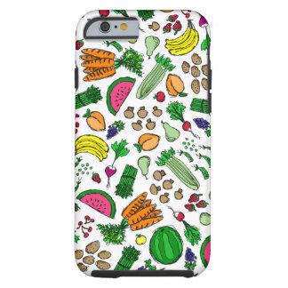 Capa Tough Para iPhone 6 Mistura do mercado do fazendeiro