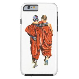 Capa Tough Para iPhone 6 Monges budistas