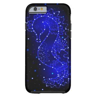 Capa Tough Para iPhone 6 natações do cavalo de mar nas luzes