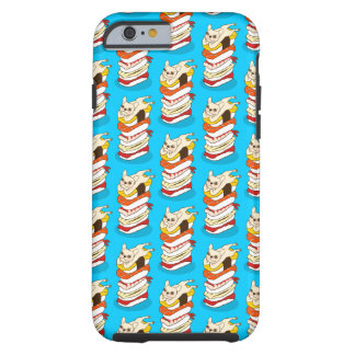 Capa Tough Para iPhone 6 Noite japonesa do sushi para o buldogue francês