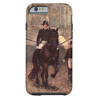 Capa Tough Para iPhone 6 O iPhone do garanhão de Lipizzan da baía, iPad,