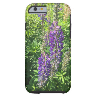 Capa Tough Para iPhone 6 Os Lupines na fazenda - fazendas de Mary do monte