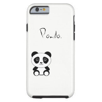 Capa Tough Para iPhone 6 Panda.