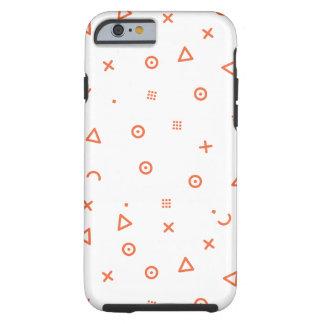 Capa Tough Para iPhone 6 Partículas felizes