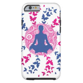 Capa Tough Para iPhone 6 paz de espírito positiva da energia da meditação